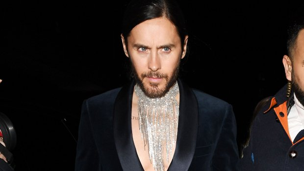 Jared Leto Proves He Still Has Rock Hard Abs & Pecs At Age 47 — Video