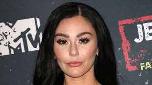 JWoww Looks Hot In Lacy Black Lingerie During Sexy Photo Shoot — Watch