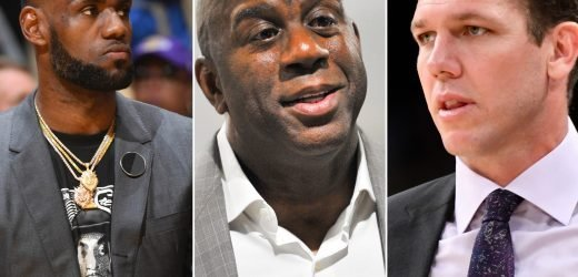 Silence, power struggle: Fallout from Magic Johnson's Lakers exit