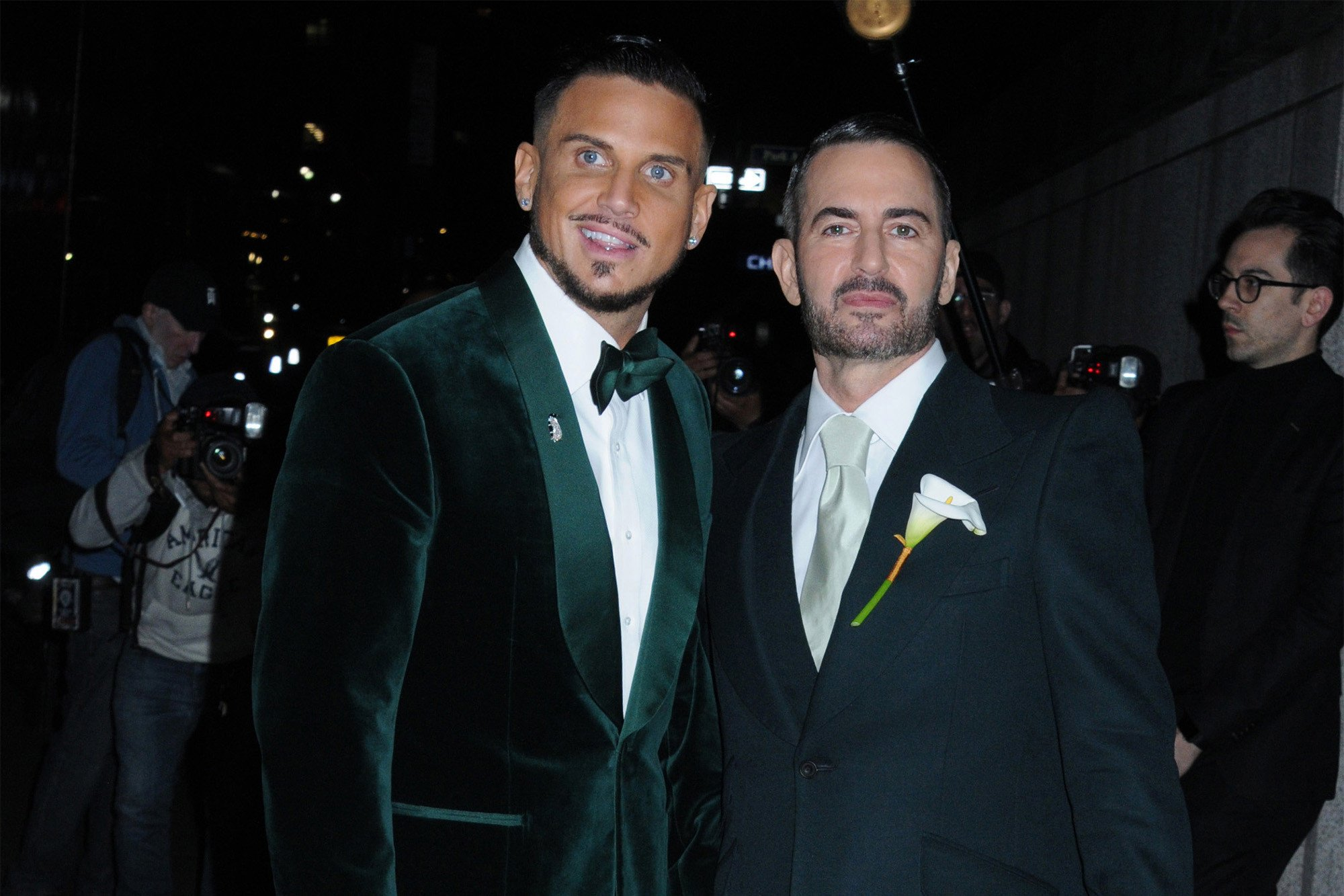 Inside Marc Jacobs' starry wedding to Charly Defrancesco