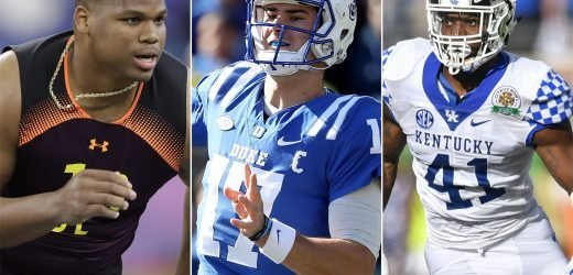 NFL Mock Draft: Giants surprise with quarterback, Jets add pass rusher