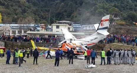 3 killed after small plane collides with helicopter in Nepal