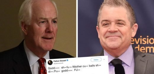 Republican Senator Comes at Patton Oswalt For Offensive Tweets and it Goes How You'd Expect