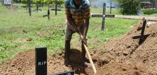 Sri Lankan grave digger's grim reality: 'We will be busy for a while'