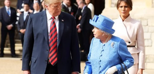 Queen Elizabeth Expected to Invite Donald Trump for State Visit in June