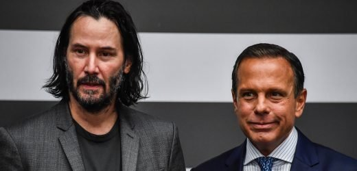 Keanu Reeves Meets with Governor of Sao Paulo to Discuss New Project