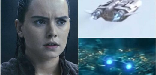 Mystery starship in The Rise of Skywalker hints at Rey's origin