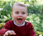 Prince Louis' First Birthday Pics Are Here and OMG Are They Cute