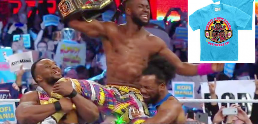 WWE accidentally leaks key WrestleMania 35 result… by selling t-shirts on official shop