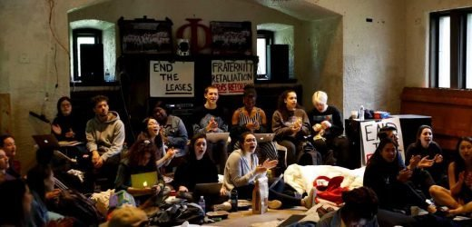 Swarthmore Students Have Been Staging a 4-Day Sit-In Protesting Campus Fraternities