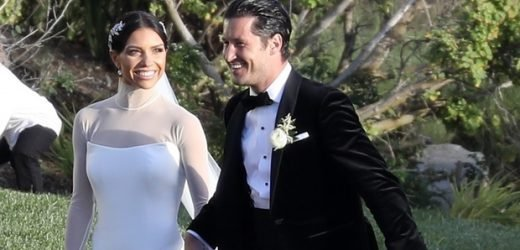 Val Chmerkovskiy and Jenna Johnson Married: 'DWTS' Couple Ties The Knot In Seaside Ceremony