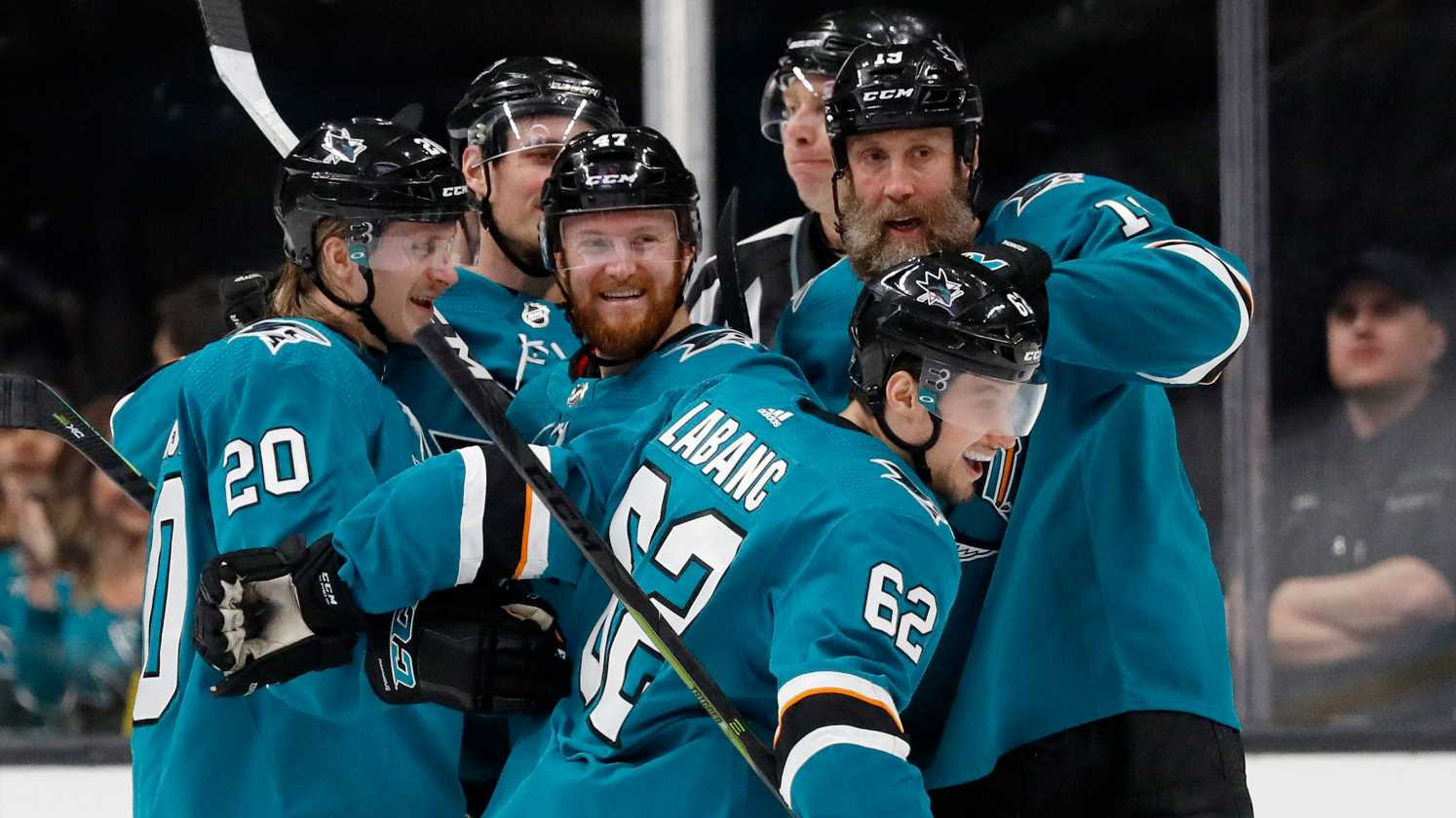 Red-hot Sharks forward Kevin Labanc scores gorgeous Game 1 goal against Avalanche