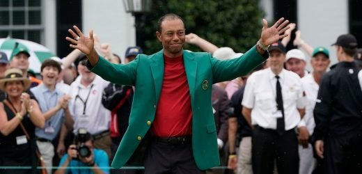 The biggest names in sports were ecstatic for Tiger Woods after his Masters win