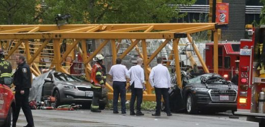 Collapsed crane in Seattle leaves 4 dead, fire officials say