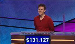 'Jeopardy!' champ previously broke a record on another game show