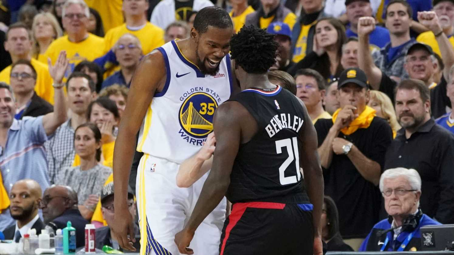 Opinion: Kevin Durant's on-court anger may be leading to a suspension