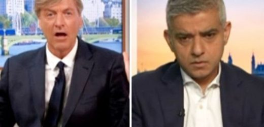 Richard Madeley savages Sadiq Khan over London crime epidemic 'I've lost respect for you'