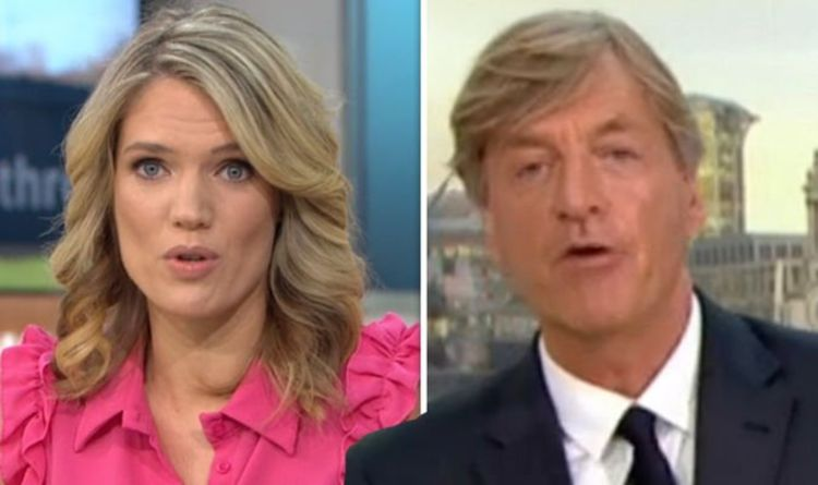ITV Good Morning Britain: 'I apologise' Richard Madeley SWEARS leaving viewers in turmoil