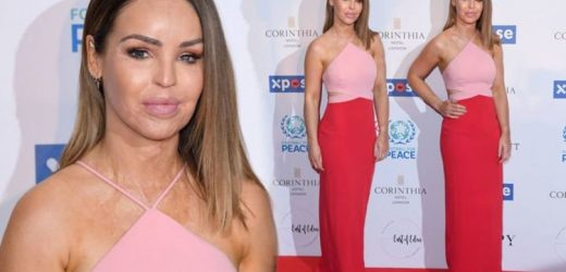 Katie Piper: Strictly star shows off slender curves in stunning gown at Global Gift Gala