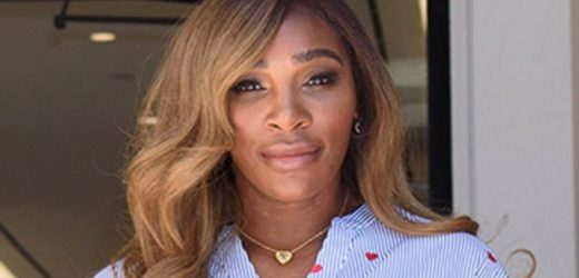 Serena Williams flashes knickers in racy wardrobe malfunction