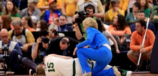 Injured Cox 'proud' after Baylor holds on for title