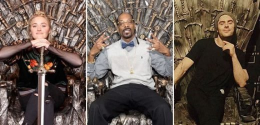 'GoT' Famous Fans — Stars Taking The Iron Throne