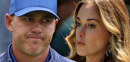 Brooks Koepka Snubs Girlfriend's Attempt to Kiss Him at PGA Championship