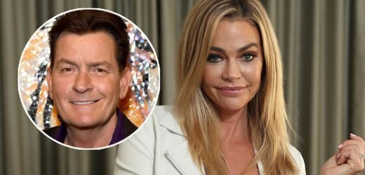 Denise Richards Spills on Time Charlie Sheen Brought a Hooker to Thanksgiving