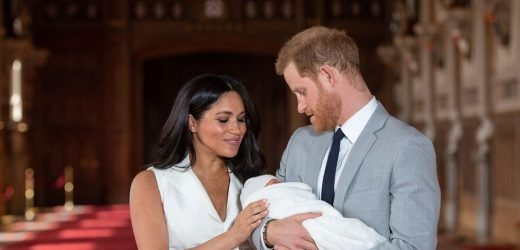 Meghan's gorgeous son is spitting image of his mum when she was a baby