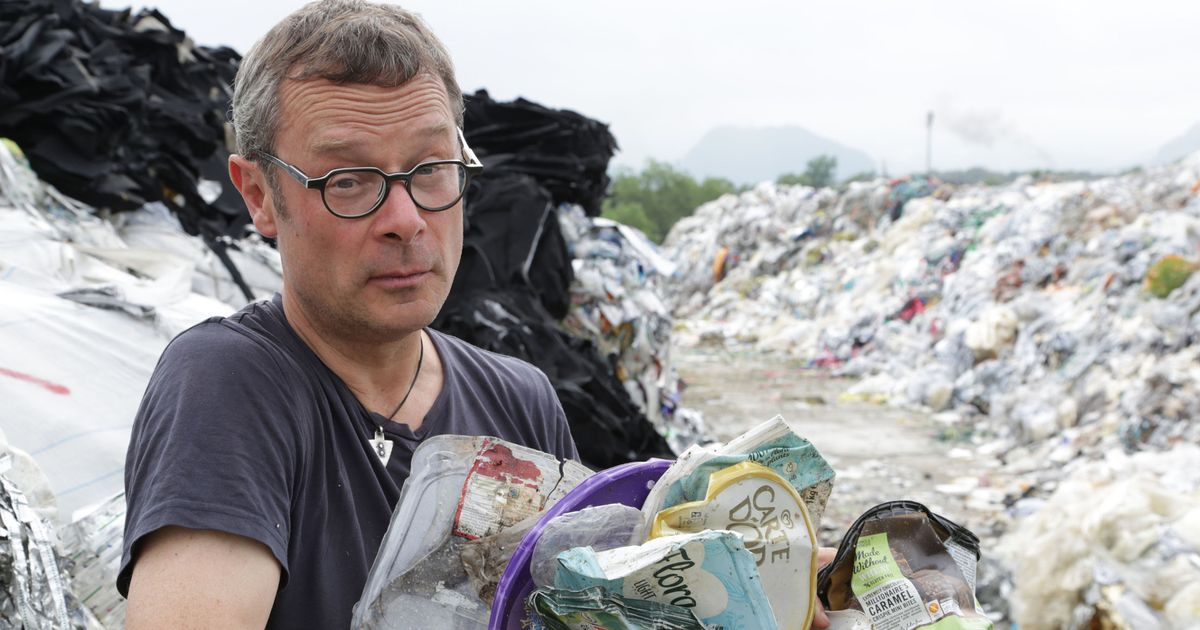 Twenty-foot high mountains of 'recycled' British rubbish uncovered in Malaysia