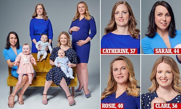 Doctors describe these new mums as geriatrics because they're over 35