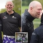 Zara and Mike Tindall attend Celebrity Golf Classic tournament