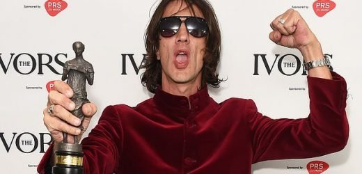 The Verve star Richard Ashcroft thanks Mick Jagger and Keith Richards