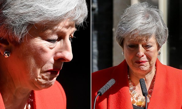 JAN MOIR: Did Mrs May show weakness? No – sometimes big girls DO cry