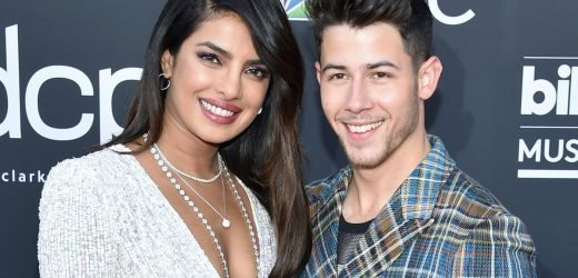 Twinkle, Twinkle! Priyanka Chopra Is Straight-Up Starlight in Her Plunging Sequin Gown