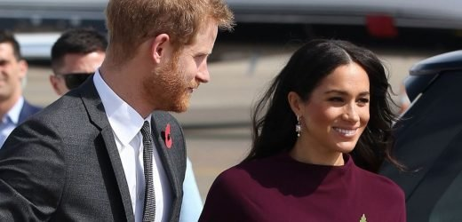 Meghan and Harry post adorable snap of Duke holding babygrow for Archie on Insta