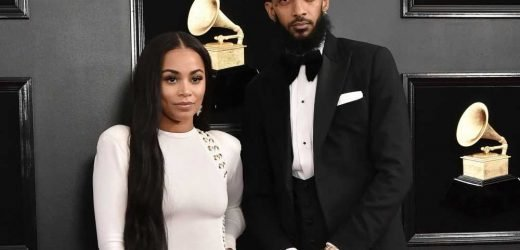 Charlamagne tha God gives Lauren London an incredibly detailed Nipsey Hussle pendant