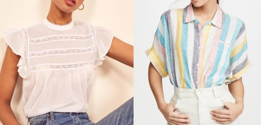 17 New Summer Shirts Perfect For Work, Weekends, and Everything in Between
