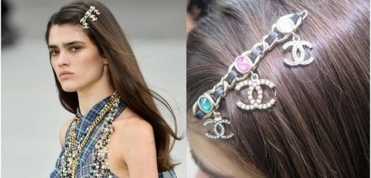 Chanel Cruise Featured Jewel and Leather Barrettes, and Now All I Want Is a Chanel Barrette