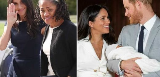 Meghan Markle and Prince Harry bid farewell to 'indispensable' gran Doria Ragland as she flies back to the US