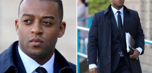Former JLS star Oritse Williams in court as rape trial continues