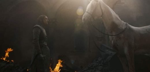 Arya Stark and the white horse on Game of Thrones: What it means