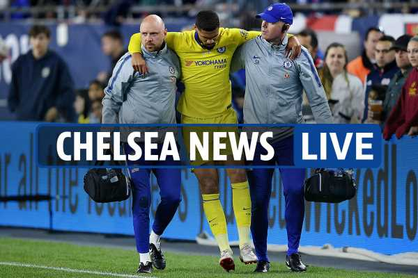 8am Chelsea transfer news LIVE: Loftus-Cheek injury latest, Lampard eyed as Sarri replacement, Griezmann wanted