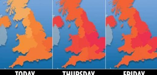 UK weather forecast – 30C scorcher this weekend will make Britain hotter than Ibiza before cool snap returns