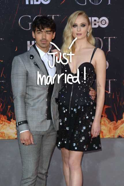 Joe Jonas & Sophie Turner Get Married In Vegas After The Billboard Music Awards!