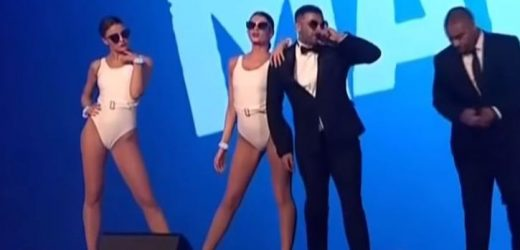 Grime band The Manor defend PFA awards performance with scantily clad female dancers after sexism backlash