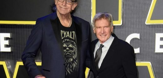 Peter Mayhew dead – Harrison Ford and Mark Hamill lead tributes to Chewbacca actor after Star Wars icon passes away