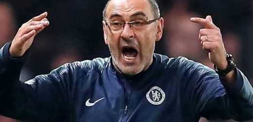 Chelsea 'will sack Sarri even if he wins Europa League', say reports in Italy