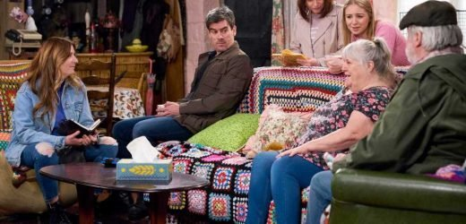 Emmerdale spoilers: Dying Lisa Dingle hands Cain guardianship of his son Kyle