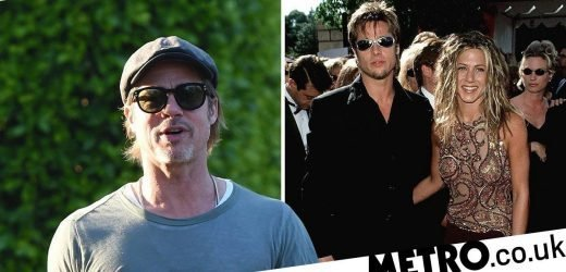 Brad Pitt 'just wants to be friends' with Jennifer Aniston, and our hearts